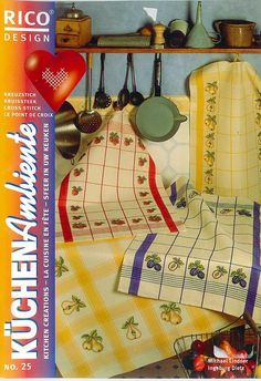 Gallery.ru / Фото #1 - 632 - Yra3raza Cross Stitch Magazines, Cross Stitch Books, Cross Stitch Patterns, Cross Stitches, Cross Stitch Kitchen, Rico Design, Picasa Web Albums, Le Point, Book Crafts
