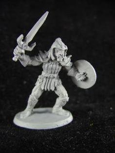 Ral Partha - AD&D 2nd Edition - 11-487 - Hobgoblin Guard A