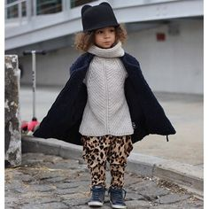 11 Times A Toddler Dressed Fresher Than Us #refinery29  http://www.refinery29.com/scout-london-instagram#slide-1  Cat ears, leopard print — we're picking up what she's laying down.