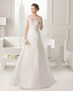 Carisma vestido de novia Rosa Clara