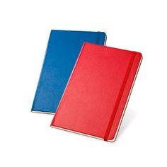 Caderno tipo moleskine personalizado.