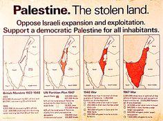 Palestine. The stolen land
