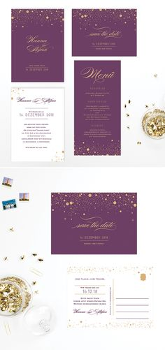 """""""Festive"""" Hochzeitseinladung Papeterie Serie verfügbar @ BonjourPaper Deutschland #hochzeitseinladung #Hochzeitspapeterie #Hochzeitseinladungen #Papeterie #savethedatekarte #bonjourpaper"""