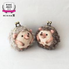 Hedgehog purse