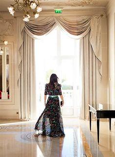 Spring long dress