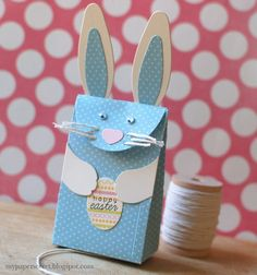Caja conejo azul 1