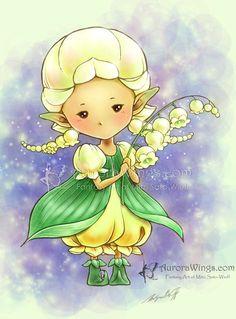Edamame Sprite by aruarian-dancer on DeviantArt Les Enfants Sages, Fairy Princesses, Hippie Art, Flower Fairies, Lily Of The Valley, Whimsical Art, Pattern Art, Adult Coloring, Line Art