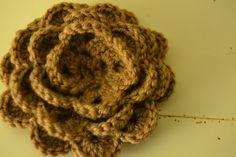 Cream Life: Tutorial rosa all'uncinetto / Crocheted rose tutorial