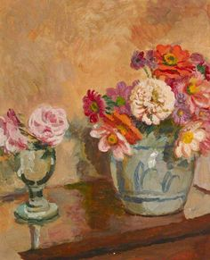 Vanessa Bell - Jug of Flowers