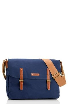 Storksak 'Ashley' Messenger Diaper Bag available at #Nordstrom  I don't care if it's a diaper bag. It's so ideal looking
