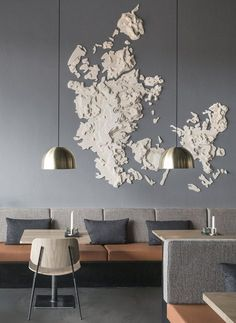Fredericia — Soborg chair by Borge Mogensen — Palaeo eateries in Copenhagen, Denmark —@johannestorpestudios