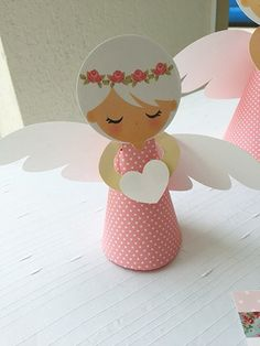 http:& Бумажные Ангелочки Kids Crafts, Crafts For Kids To Make, Cute Crafts, Art For Kids, Diy And Crafts, Paper Crafts, Christmas Angel Crafts, Kids Christmas, Christmas Decorations