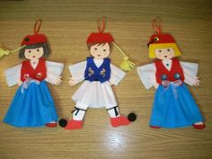 Greek Independence, National Days, 25 March, Preschool Education, Early Childhood, Elf On The Shelf, Ronald Mcdonald, Dolls, Holiday Decor