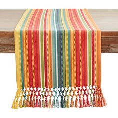 Carnaval Striped Table Runner