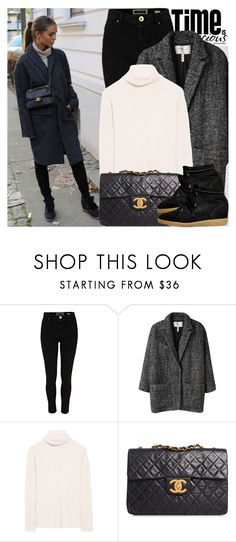 """2507. Street Style"" by chocolatepumma ❤ liked on Polyvore featuring Oris, River Island, Étoile Isabel Marant, The Row, Chanel and Isabel Marant"