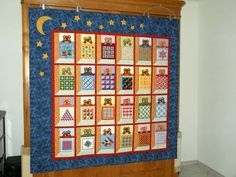 ABSOLUTELY one of the cutest quilts I've ever seen!  LOVE, LOVE, LOVE this!