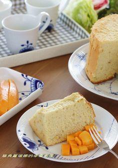 夏日限定芒果煉奶戚風蛋糕食譜、作法 | 蘿瑞娜Lorina的多多開伙食譜分享