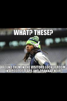 Richard Sherman meme. Go Seahawks!