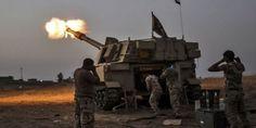 Forcat irakiane të sigurisë sulm të gjërë për të marrë aeroportin e Mosulit