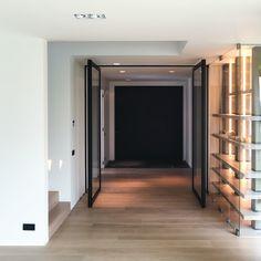 dubbele stalen pivotdeur van Anyway Doors
