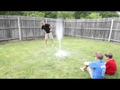 This EPIC Bottle Rocket Flew Higher Than our Two Story House! – Frugal Fun For Boys and Girls