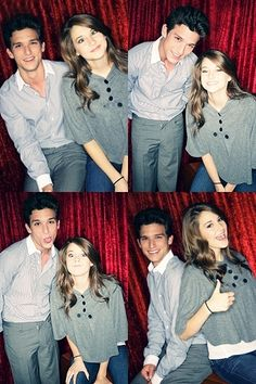Daren kagasoff and Shailene Woodley