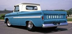 Chevy truck, damn it boy garage