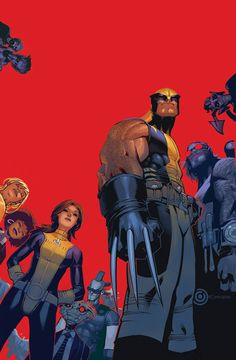 Wolverine & The X-Men Cover: Wolverine, Kitty Pryde, Beast Marvel Comics Poster - 30 x 46 cm Marvel Comics, Marvel Heroes, Marvel Dc, Mundo Marvel, The Wolverine, Comic Book Artists, Comic Books Art, Comic Art, X Men