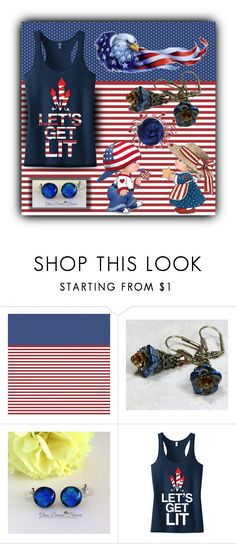 4th of July is almost here! by sabine-promote on Polyvore featuring moda