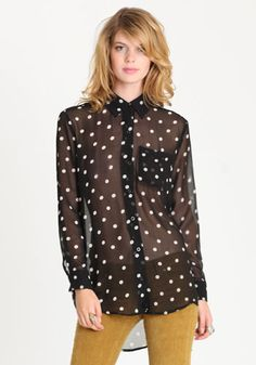 great polka dot top ~ $34