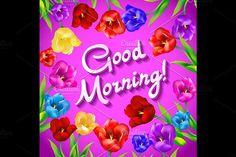 Good morning vector. Wedding Card Templates
