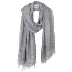 Crackled aspect scarf ❤ liked on Polyvore featuring accessories, scarves and gauze scarves