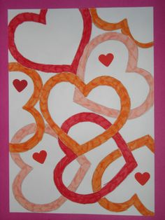 Derde leerjaar 2010-2011: 14 februari... Valentijn
