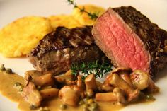 V kuchyni vždy otevřeno ...: Jelení steak s liškami