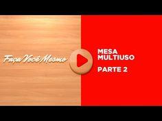 Mesa Multiuso 3/4 - Faça Você Mesmo - Elias Leão - YouTube