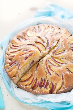 Torta alle pesche soffice con yogurt | Tavolartegusto.it | Bloglovin'