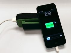 myPower Converts Energy from Your Daily Run into Renewable Power for Your Mobile Phone