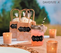It's no secret that we love chalk markers here at Crafty Croc and our chalkboard labels are a fantastic addition to this addiction. David Tutera, Chalkboard Labels, 60th Birthday Party, Chalk Markers, Organize Your Life, Life Organization, Party Favors, Bridal Shower, Invitations