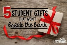 The holidays can be expensive. Today I am linking up with Focused in Fifth's 12 Day of Christmasbring you some great ideas on how to stay in budget and still give your students AMAZING holiday gifts that won't end up in the trash as soon as they get home. There are so many great ideas...Read More »