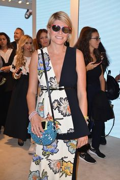 Elisa Nalin at #THEPINKOINVASION #sunglasses collection launch event #PINKO #MFW #SS16