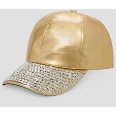 Ashley Stewart Embellished Baseball Cap ($20) ❤ liked on Polyvore featuring accessories, hats, adjustable ball caps, baseball cap, faux leather baseball hat, baseball caps hats and embellished baseball caps