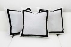 Regency Pillow Collection from Designer8* Event Furniture Rental #events #eventrentals #pillows
