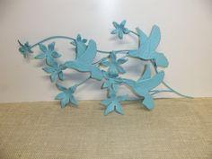 Hummingbirds Wall Decor Metal Vintage by ShabbySeasonsDecor, $20.00