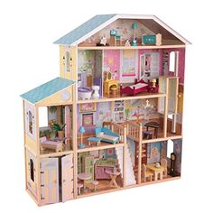 Buy KidKraft Majestic Mansion Dollhouse securely online today at a great price. KidKraft Majestic Mansion Dollhouse available today at Stunning Dolls Store : Buy Now!