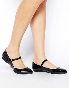 Assortment of footwear in mary jane shoes mary jane shoes enlarge new look jeanette black mary jane flat shoes HWYEFLQ Pretty Shoes, Beautiful Shoes, Cute Shoes, Me Too Shoes, Sock Shoes, Shoe Boots, Flat Shoes, Black Flats Shoes, Platform Shoes