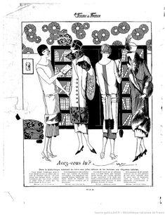 Les Modes de la femme de France | 1924-12-28 | Gallica