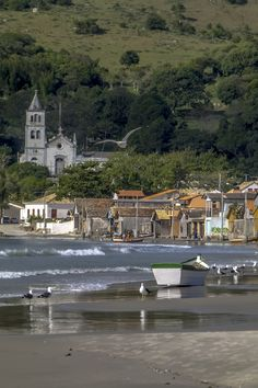 Garopaba is a town and municipality in the state of Santa Catarina in the South region of Brazil.