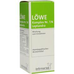 LOEWE KOMPLEX Nr. 1 N Leptandra Tropfen:   Packungsinhalt: 50 ml Tropfen PZN: 02912981 Hersteller: Infirmarius GmbH Preis: 8,64 EUR inkl.…