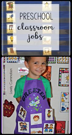Bring classroom jobs into your preschool classroom!  Giving every student a job is easier than you think!