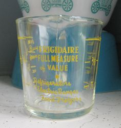 Your place to buy and sell all things handmade Vintage Dishes, Vintage Glassware, Vintage Kitchen, Vintage Items, Vintage Fire King, Anchor Hocking, Vintage Love, Measuring Cups, Vintage Advertisements